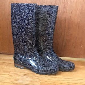 Toms women's rain boots size 9